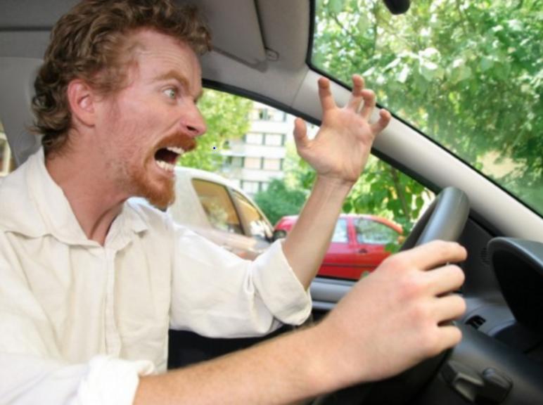 mad car driver